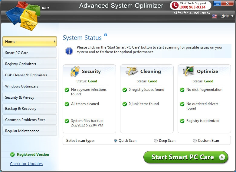 Advanced System Optimizer v3.9.1112.16579 Full