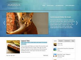 Massiva WordPress Theme