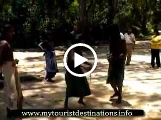 Dambana Vedda village (indigenous people of Sri Lanka)