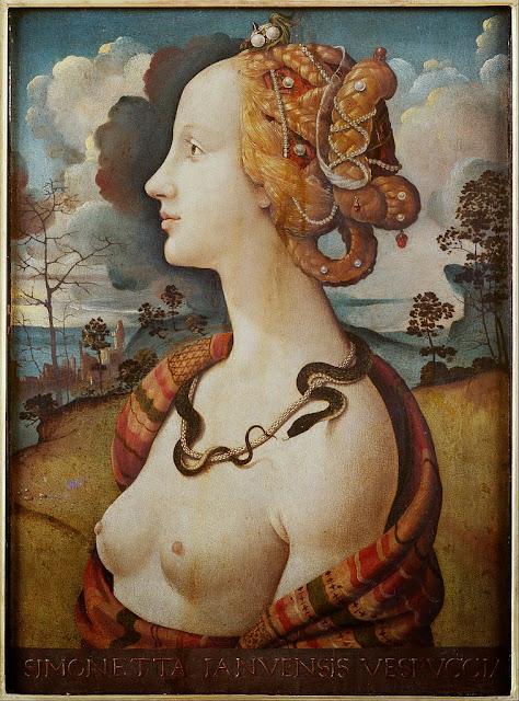 Piero di Cosimo - Portrait de femme dit de Simonetta Vespucci - Google Art Project