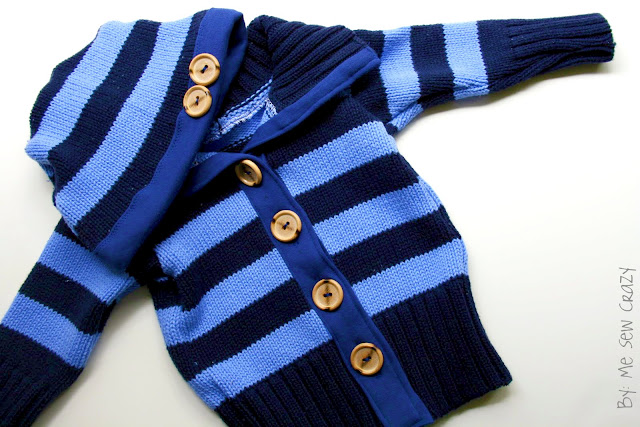4119c834d Baby Sweater Hat DIY - The Sewing Rabbit