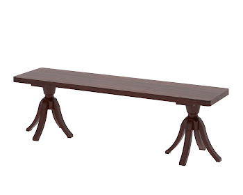 Tonkin dining bench