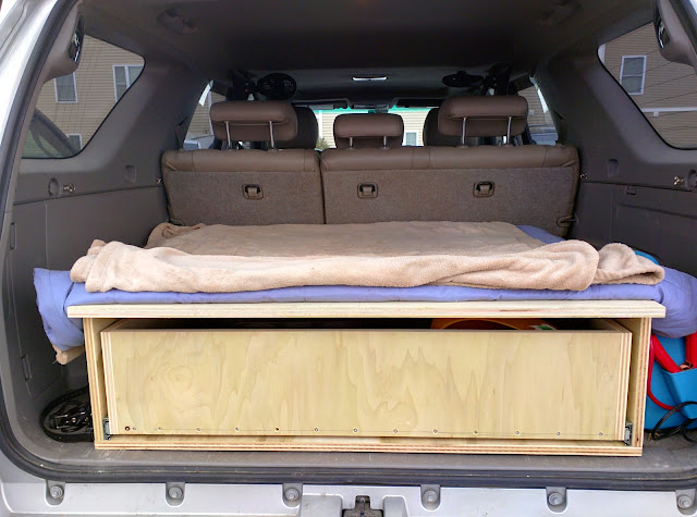 Here is the final product for just the storage drawer. & The most awesome sleeping/storage platform thread - Toyota 4Runner ...