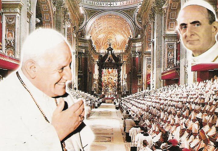Giovanni XXIII, Paolo VI, i papi del Concilio