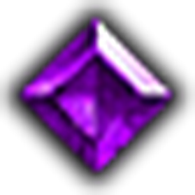 完美方正紫寶石
