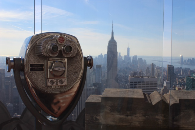 View from the Top of the Rock!