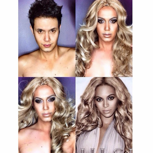 Paolo Ballesteros Makeup Transformations with Pictures 10