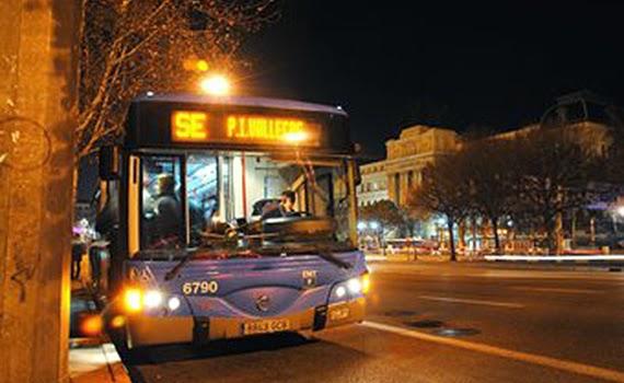 Los buses de EMT para la Campaña del Frío transportaron 50.000 viajeros