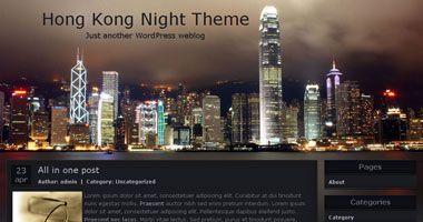 Hong Kong Night Theme