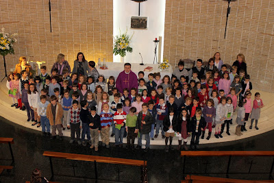 27 de Noviembre: Misa de los niños de 2º de Primaria