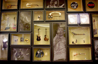 Rock and Roll Memorabilia at The Hard Rock Hotel and Casino