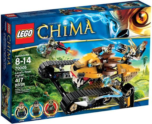 レゴ チーマ ラバルのロイヤル・ファイター 70005