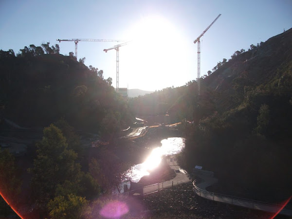 cotter dam construction