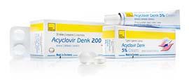 აციკლოვირი-დენკი 5% კრემი ⁄ Aciclovir-Denk 5% Cream