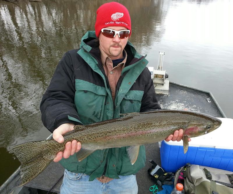 Grand River Steelhead Fishing Guide Service