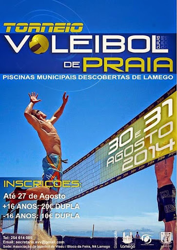 Torneio Aberto de Vólei de Praia 2014 - Lamego
