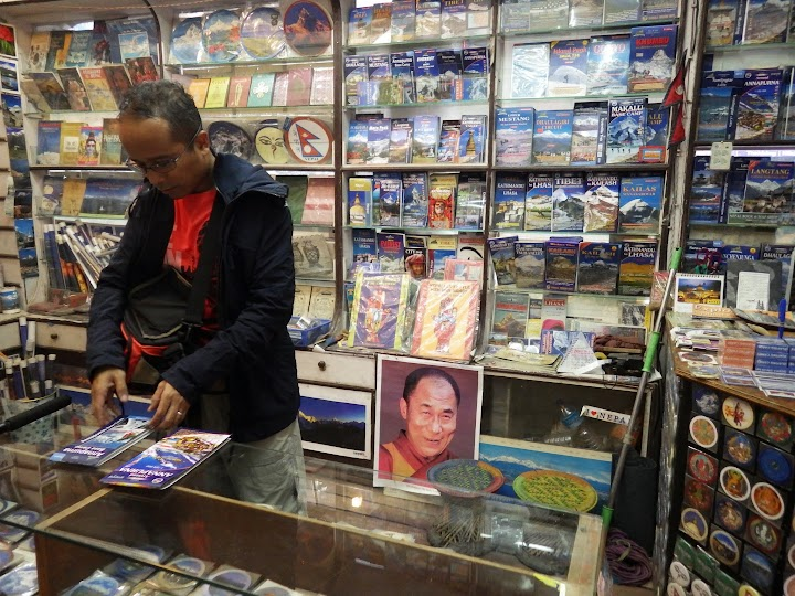 Buying Annapurna Circuit map