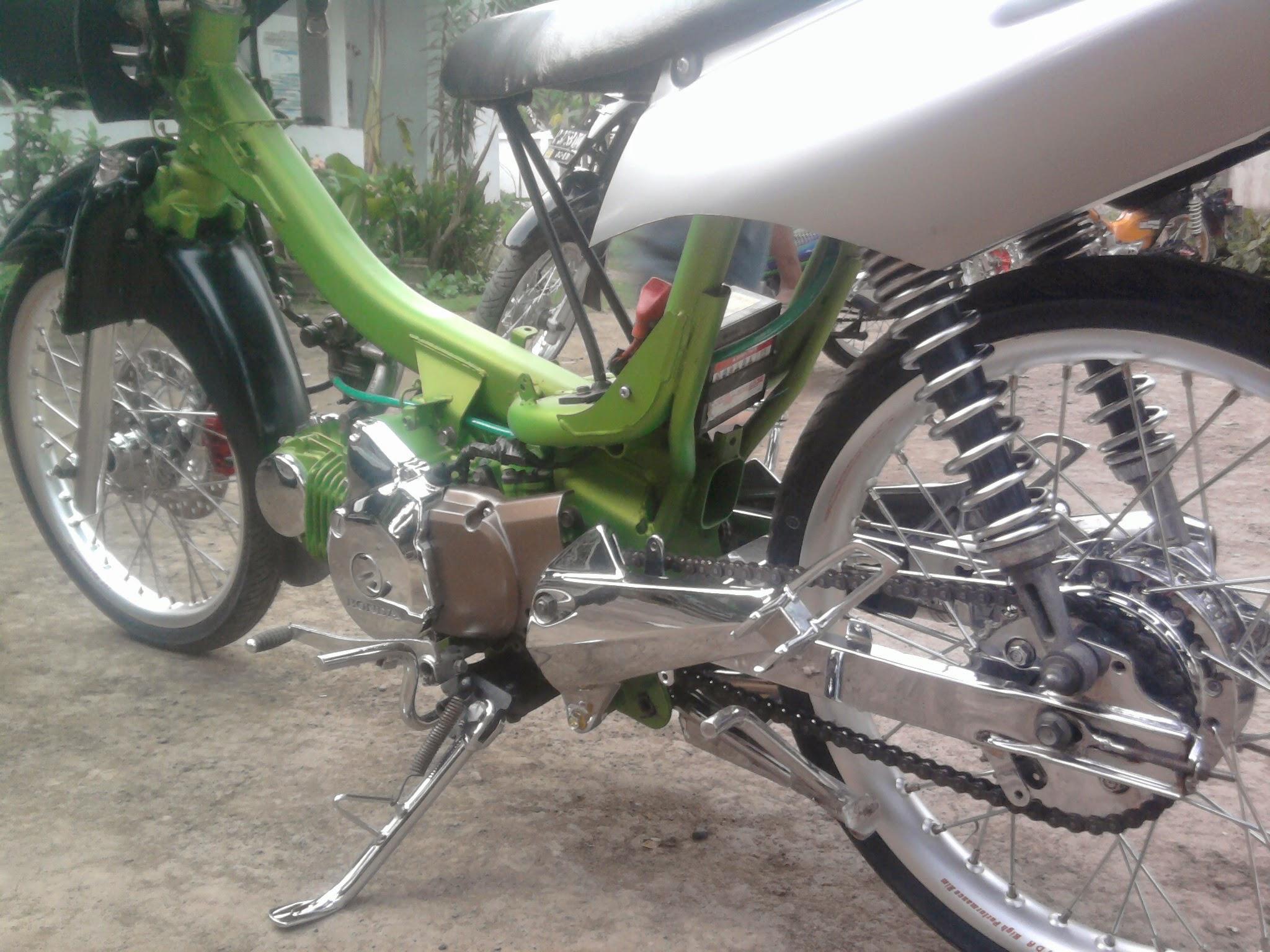 Modifikasi Honda Karisma 125 Thecitycyclist