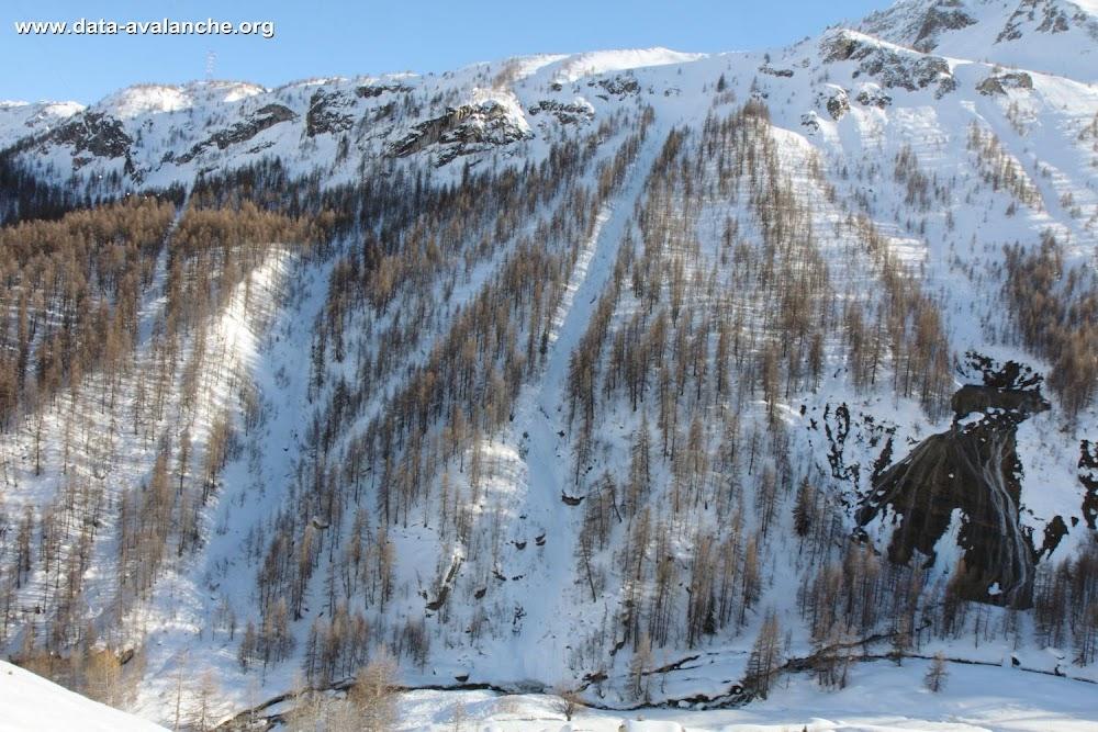 Avalanche Haute Tarentaise, secteur Tignes, Bois de la Laye - Photo 1