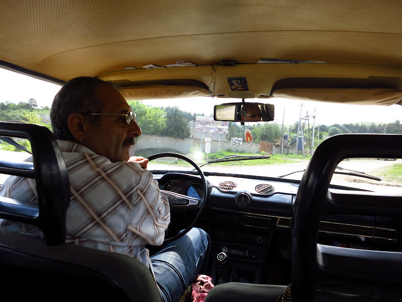 The cabbie and his Lada