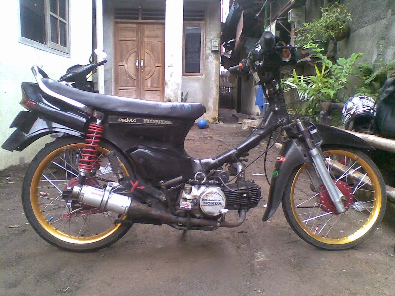 Honda Astrea Grand Modifikasi Trail
