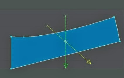 tạo điểm giao nhau giữa 2 đường canh sợi