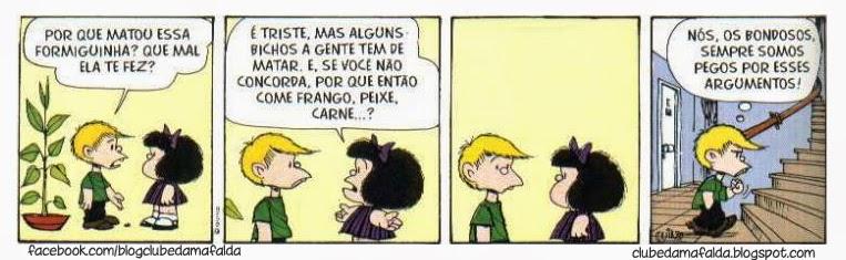 Clube da Mafalda: Tirinha 594
