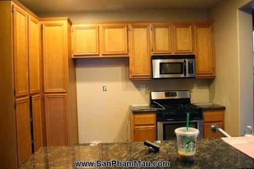 4 phòng bếp tuyệt đẹp chỉ nhờ thay đổi màu sơn-6