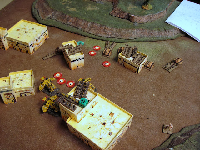 A Mech Coy double on the Tacticals, taking two out. The Tacticals take out a Hydra and Chimera on the sustain.