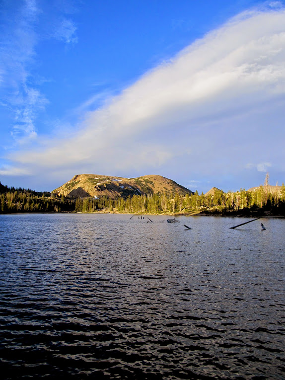 Clyde Lake and East Notch Mountain