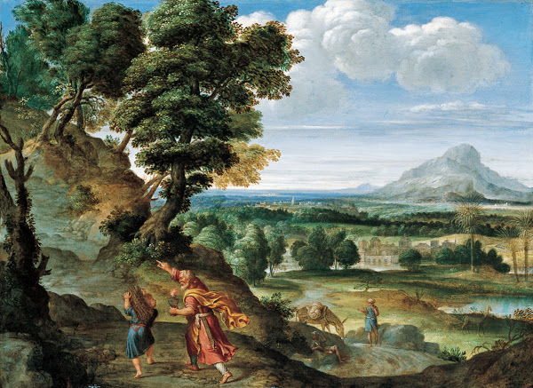 Domenichino - Abraham Leading Isaac to Sacrifice