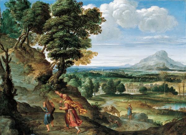 Domenichino - Abraham Leading Isaac to Sacrifice