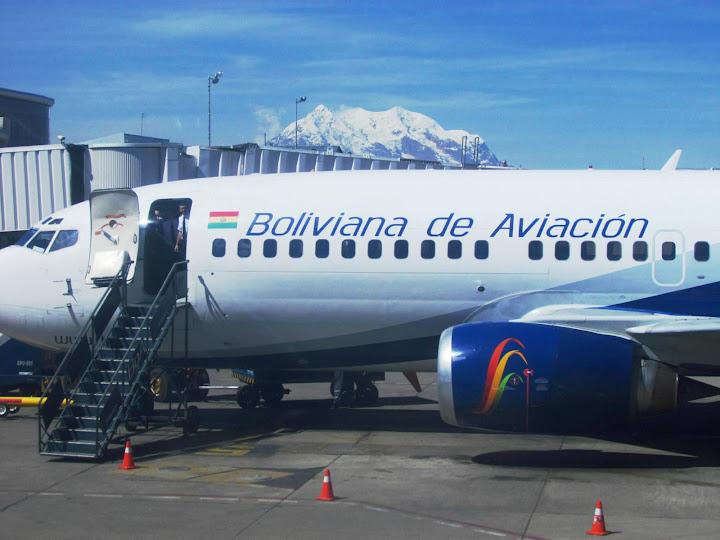 Empresas aeronáuticas de Bolivia