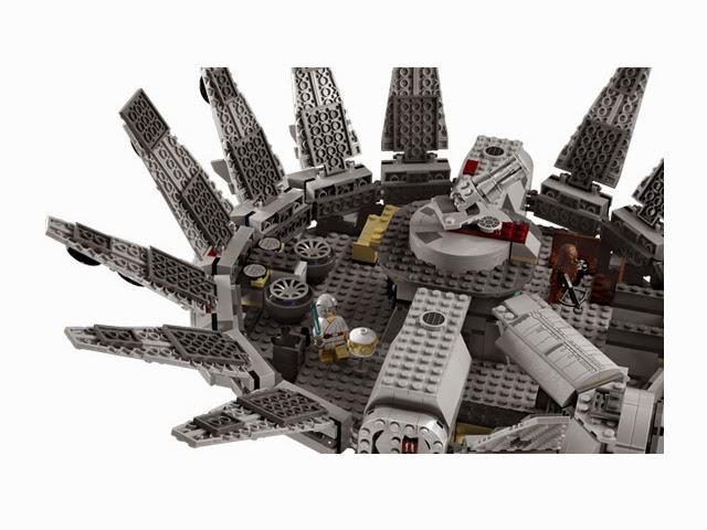 7965 レゴ ミレニアム・ファルコン(スターウォーズ)