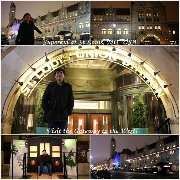 很漂亮的聖路易聯合車站!!!
