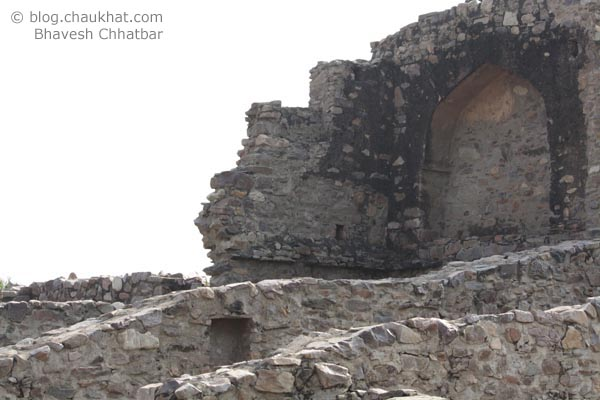 Bhangarh - Ruined Stone Walls