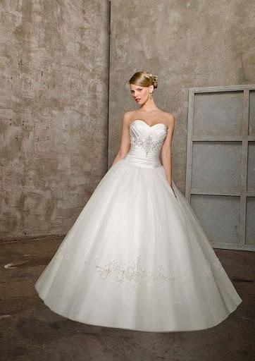 Strapless Hochzeitskleider - Hochzeitskleid Bild