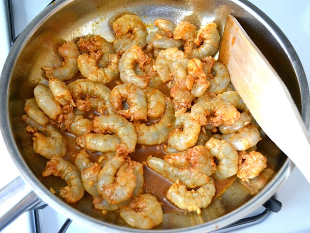 cook shrimp