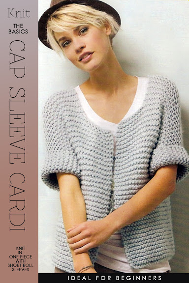 a994f7259c58c Needlecrafts - Knitting the Basic Cardigan