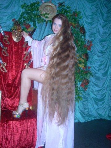 Rapunzel very long hair photo