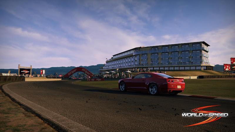 Ngắm trường đua Bathurst trong World of Speed 4