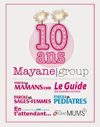 anniversaire 10 ans Mayane group Parole de Mamans