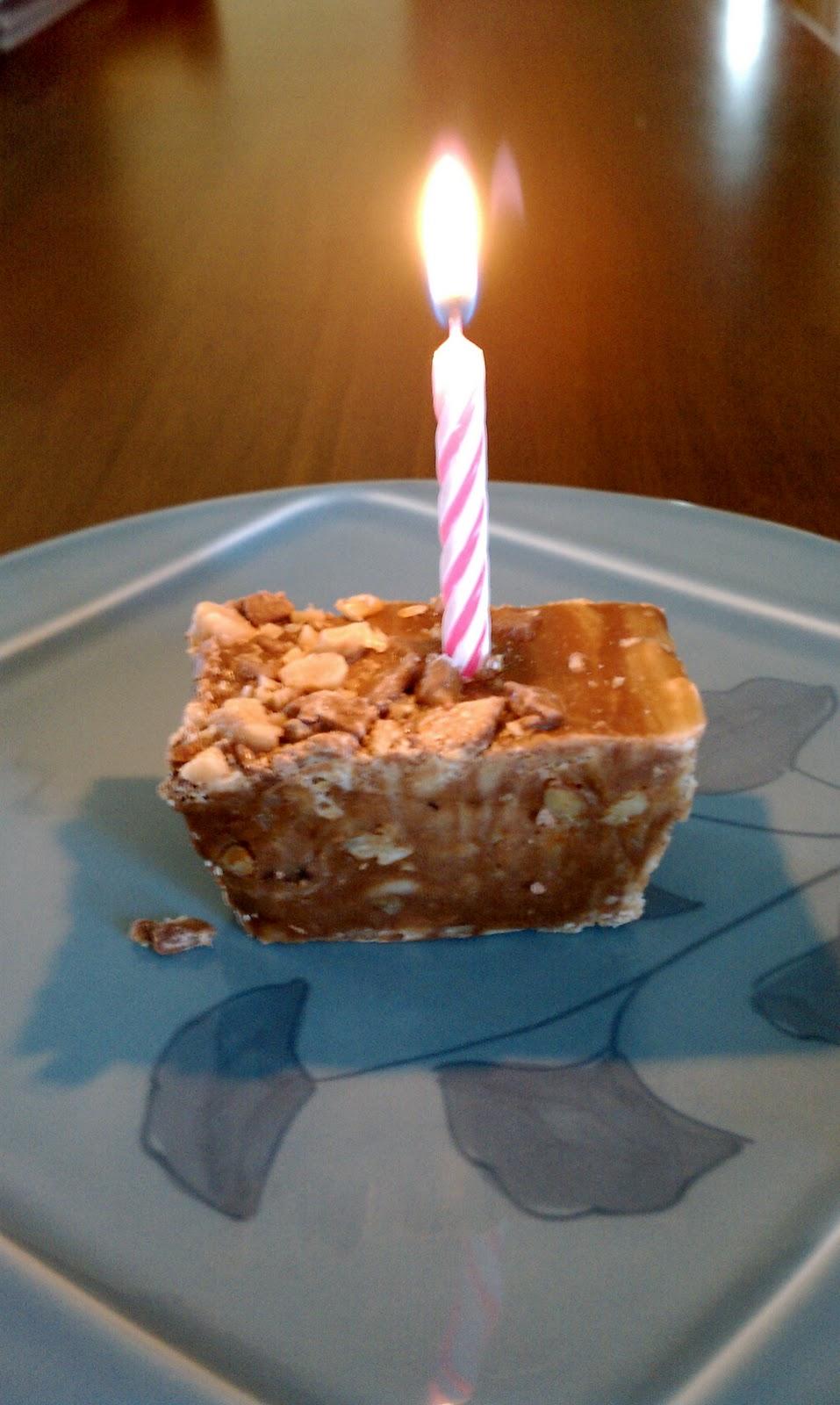 Favorite Fudge Birthday Cake