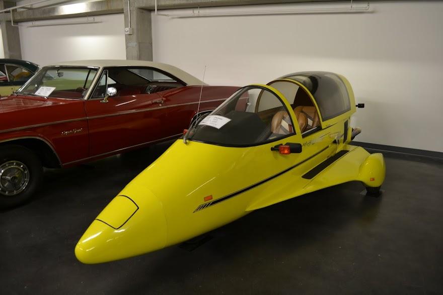1986 Owasso Pulse. Автомобильный музей ЛиМей, Такома, Вашингтон (LeMay Museum, Tacoma, WA)