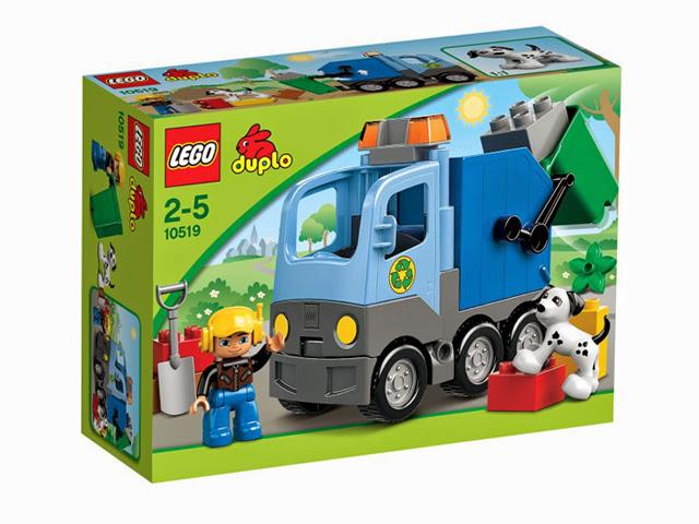 10519 レゴ デュプロ ゴミしゅうしゅうトラック