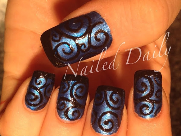 Matte vs Sparkle Filigree