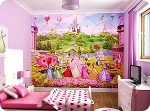 Обои для стен детской комнаты