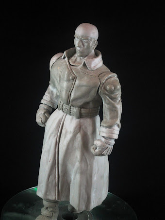 Escultura en masilla epoxica de Mr.x-tyrant
