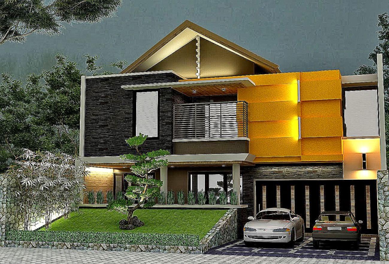Desain Rumah Kayu Tropis Minimalis - Jual Bata Ekspos