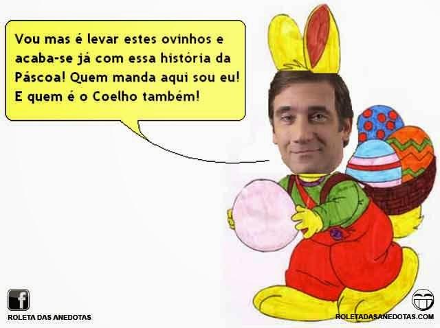 Coelho acaba com a Páscoa